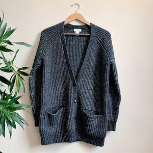 BARNEYS - Alpaca Cardigan Sweater